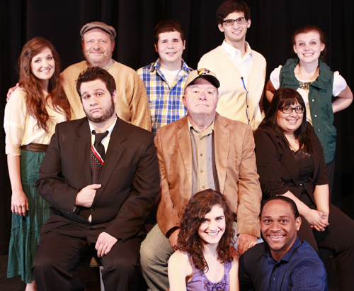 Featured actors in the MavPlays 2013 ensemble include (top row, from left) Bridie Marie Corbett, Eugene Chandler, Eric Smith, Joshua Eguia and Elly Hunt; (middle row, from left) Johnathan Crawford, Dr. Dennis Maher and Eliamaria Madrid Onofre; and (bottom row, from left) Kelly Stewart and Winston Daniels. (Photo contributed)