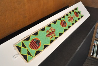 An item from the Department of Art & Art History's African art collection. (Photo by James Dunning/COLA)