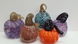 art-glass-pumpkins